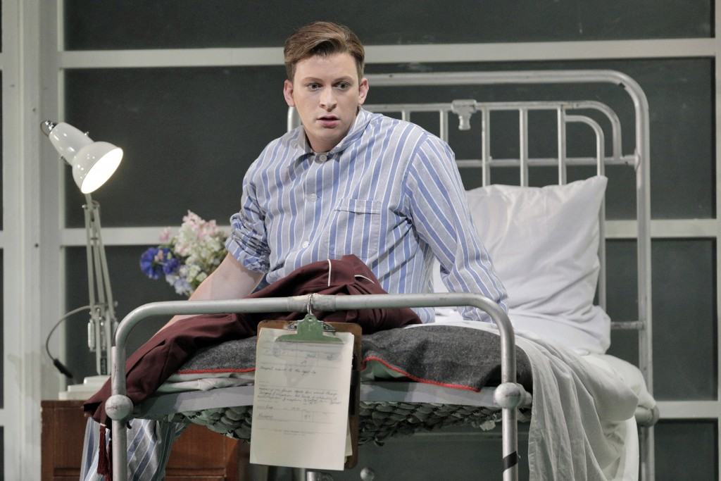"""This June 4, 2019 photo released by the  San Francisco Opera shows Aryeh Nussbaum Cohen during a production of """"Orlando"""" at the San Francisco Opera. C..."""