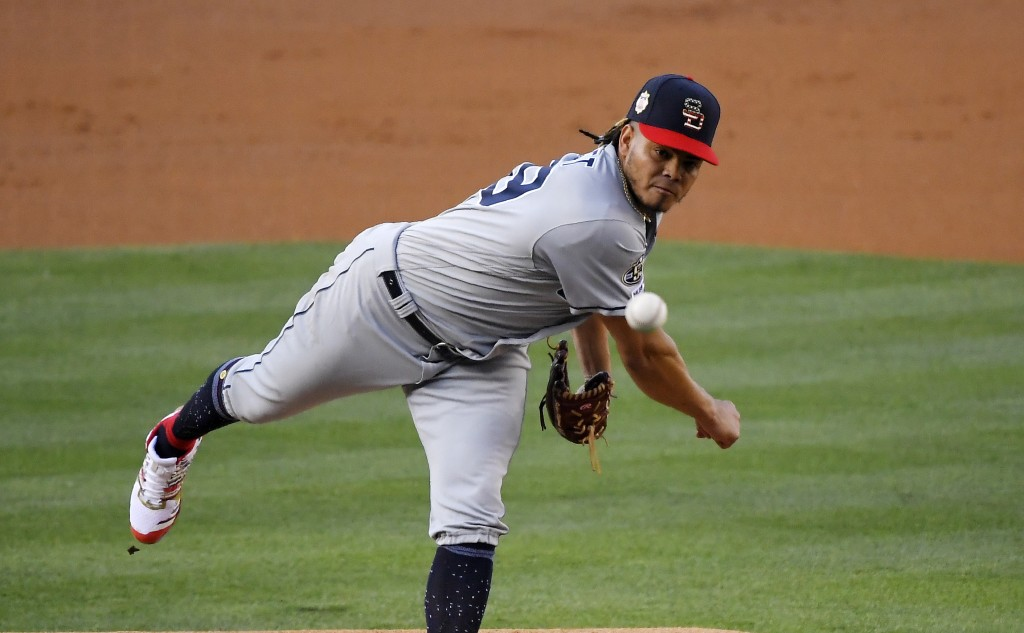 Lauer scheduled to start for Padres at Dodgers