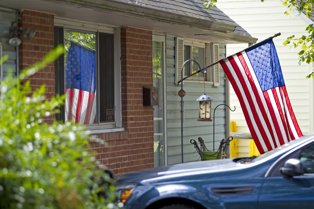 FILE - In this Oct. 5, 2016 file photo, the house of Harold Thomas Martin III is seeing in Glen Burnie, Md.  A high-profile raid at the home of an NSA...