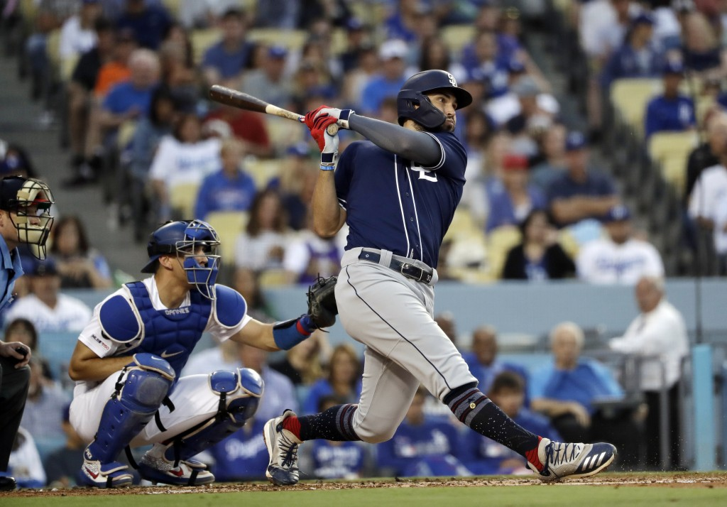 Renfroe, Margot lift Padres past host Dodgers