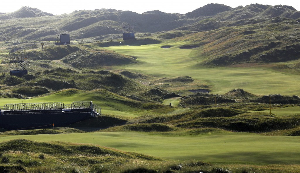 The Dunluce Links course at Royal Portrush Golf Club, Northern Ireland, Saturday, July 6, 2019. The Open Golf Championship will be played at Royal Por...