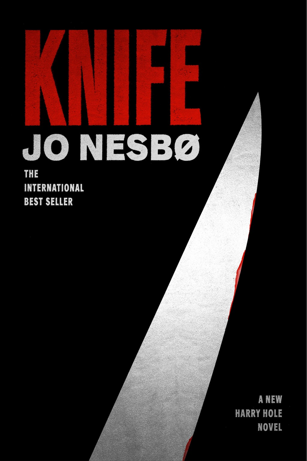 """This cover image released by Alfred A. Knopf shows """"Knife,"""" by Jo Nesbo. (Alfred A. Knopf via AP)"""