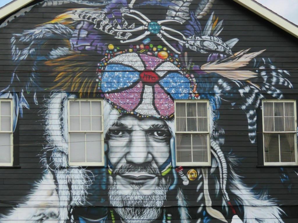 This mural of musician Dr. John, seen in a Feb. 22, 2019 photo, is among nearly two dozen created through Neal Morris's NOLA Murals Project after Morr