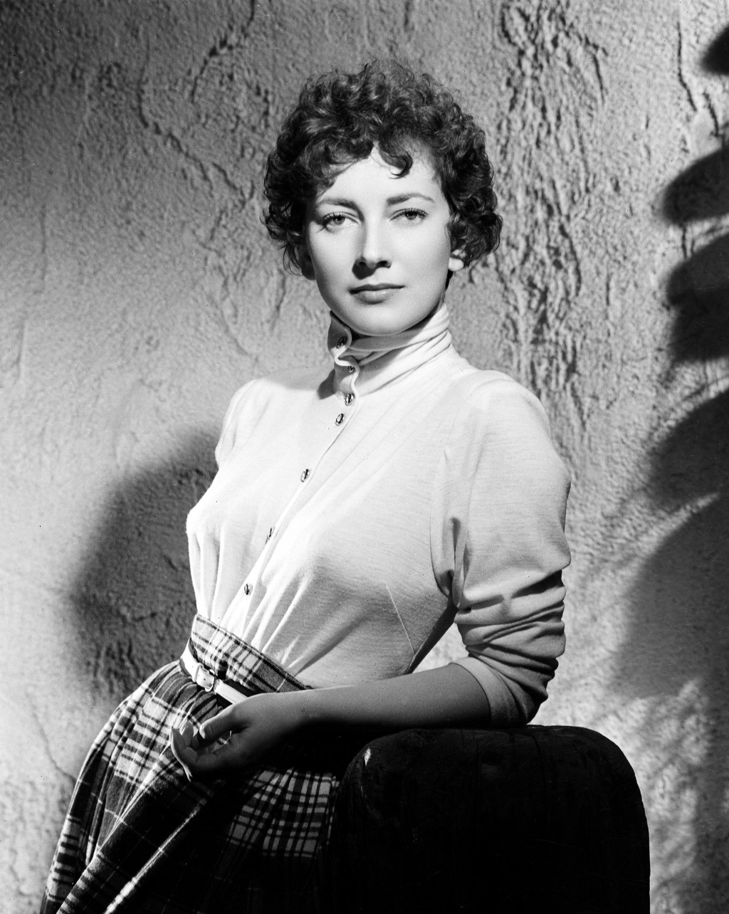 FILE - Italian film actress Valentina Cortese is shown in Italy in Jan. 1949. The renown actress, who worked with some of the best directors of both t