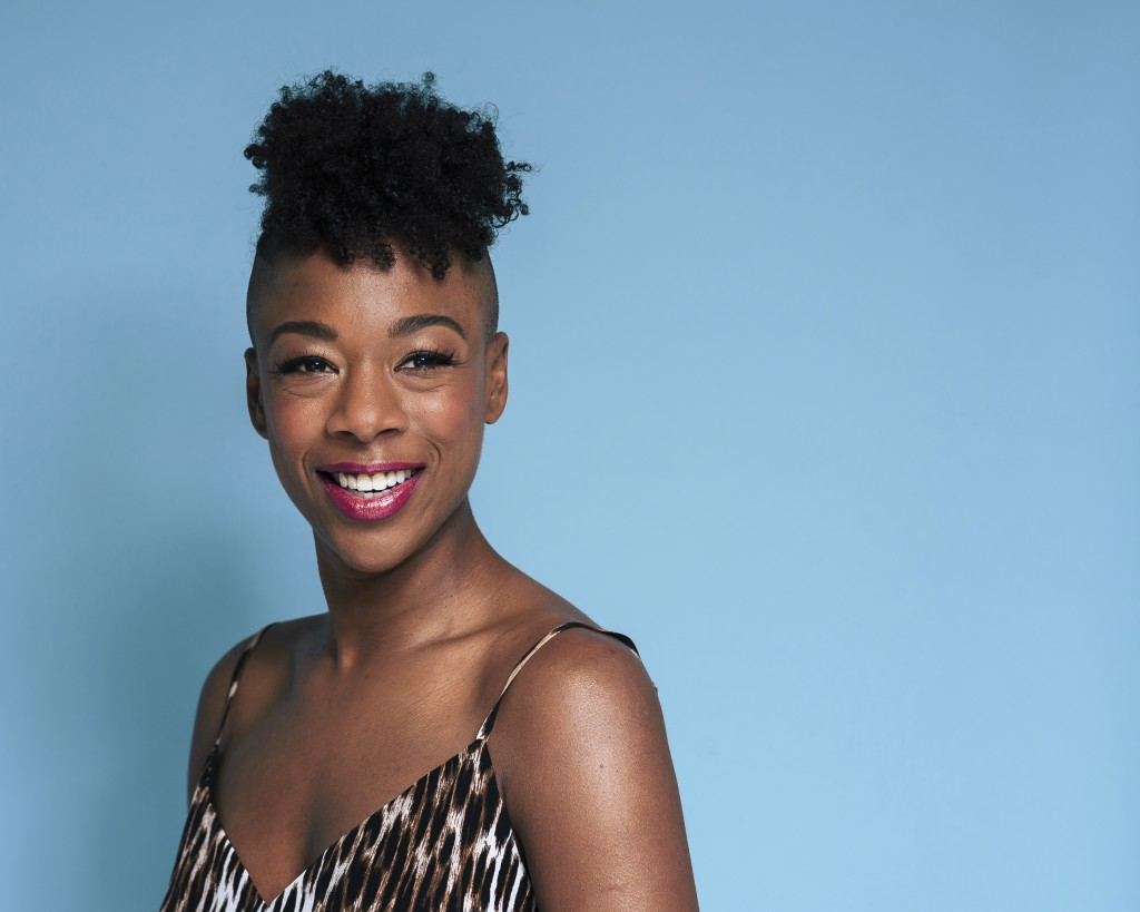 """This June 28, 2019 photo shows Samira Wiley posing for a portrait in New York to promote the 7th season of """"Orange is the New Black."""" The final season"""