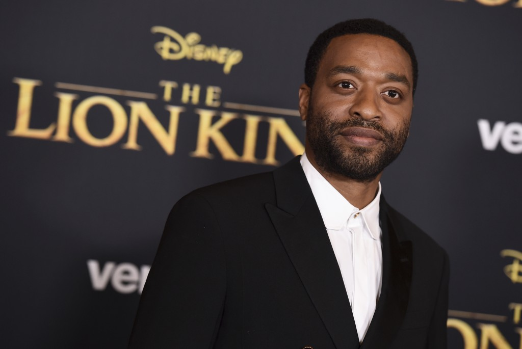 """Chiwetel Ejiofor arrives at the world premiere of """"The Lion King"""" on Tuesday, July 9, 2019, at the Dolby Theatre in Los Angeles. (Photo by Jordan Stra"""