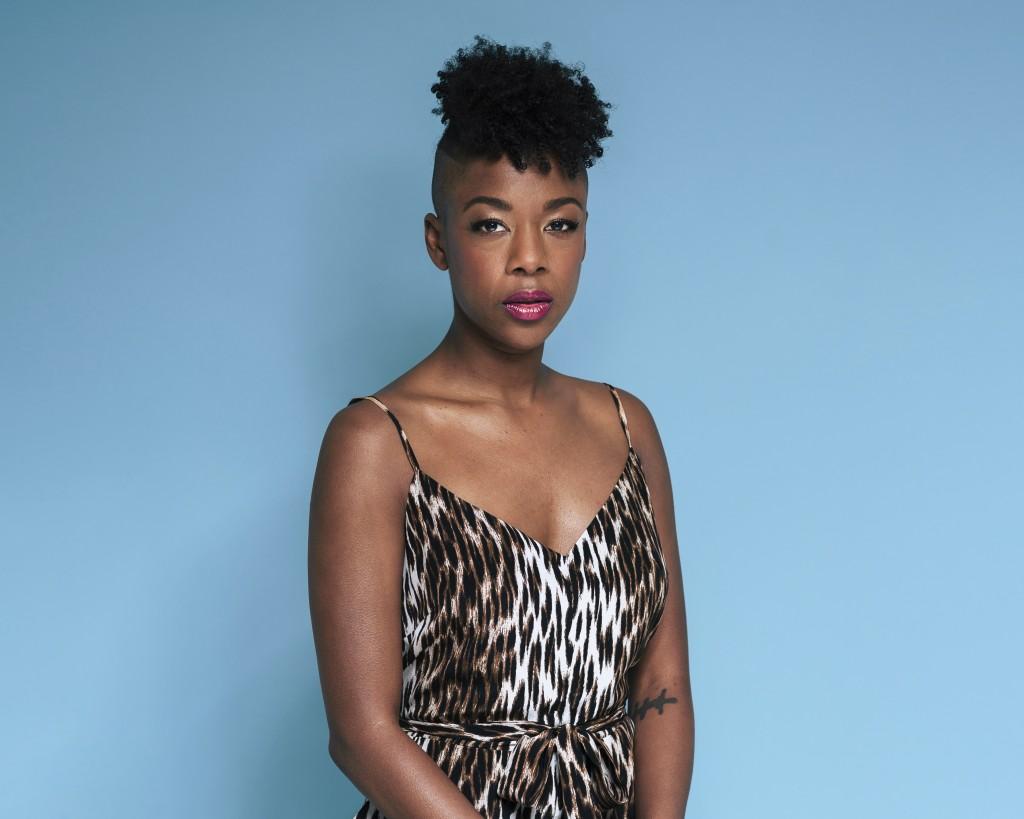 This June 28, 2019 photo shows Samira Wiley posing...
