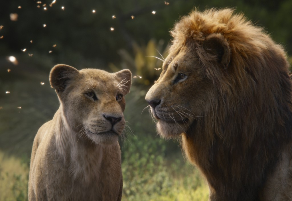 This image released by Disney shows Nala, voiced b...
