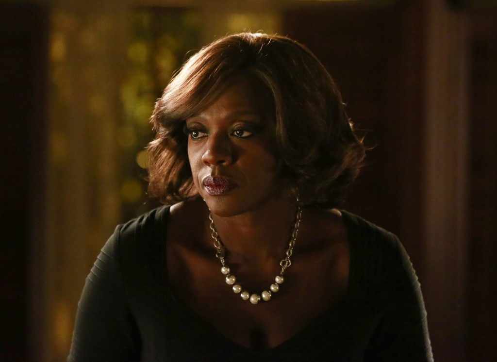 In this image released by ABC, Viola Davis appears...