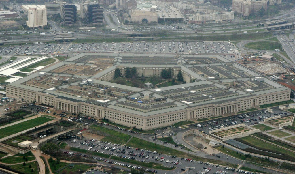 FILE - This March 27, 2008, file photo, shows the Pentagon in Washington. The Democratic-controlled House is moving to put a liberalized stamp on Pent...