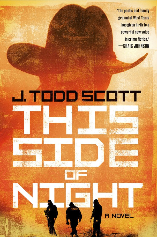 """This cover image released by G.P. Putnam's Sons shows """"This Side of Night,"""" a novel by J. Todd Scott. (G.P. Putnam's Sons via AP)"""