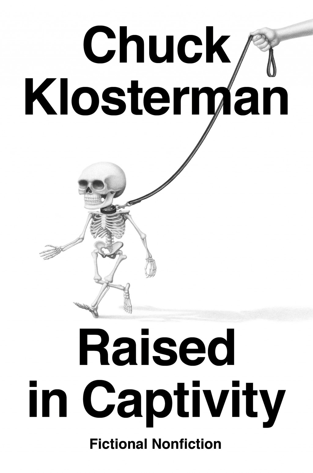 """This cover image released by Penguin Press shows """"Raised in Captivity: Fictional Nonfiction"""" by Chuck Klosterman. (Penguin Press via AP)"""