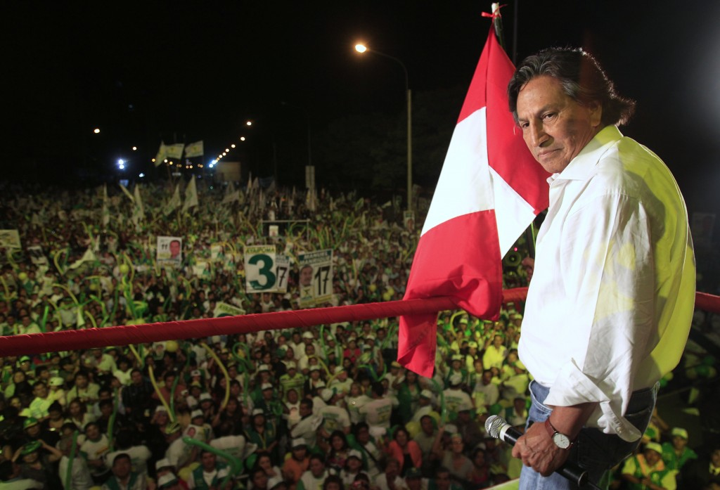 Peru`s `fugitive` ex-president Toledo arrested in US, faces extradition