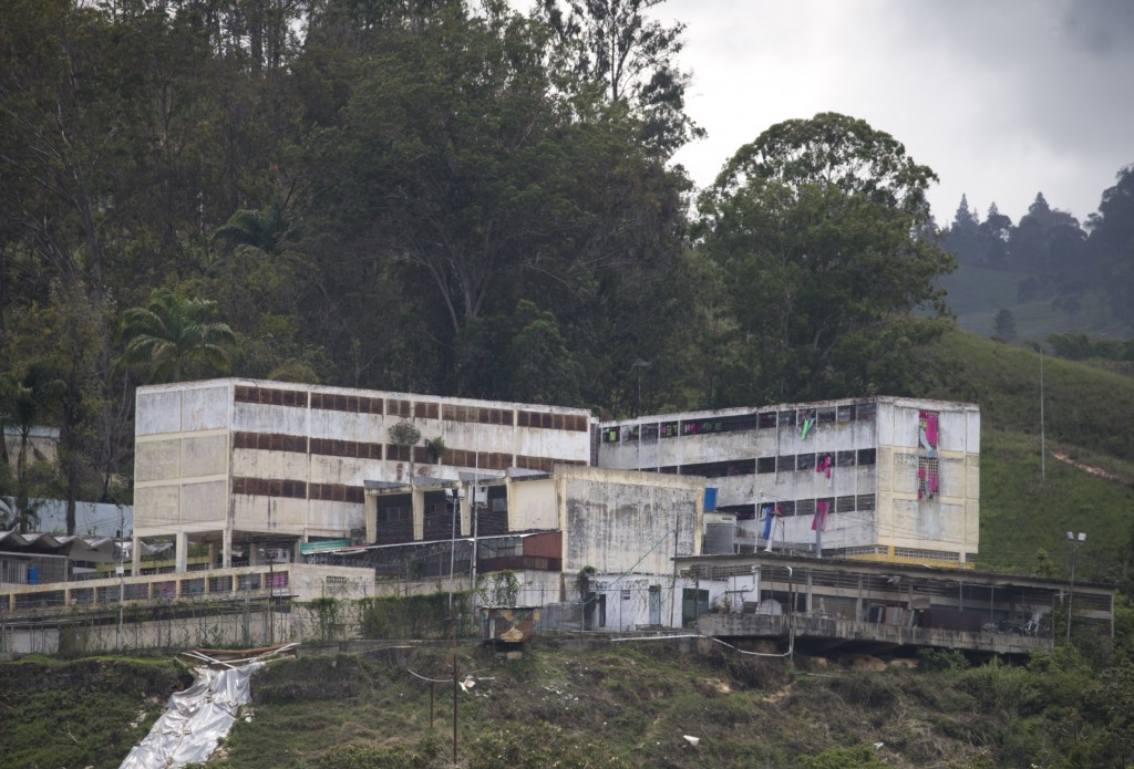 The National Institute of Feminine Orientation prison, stands in Los Teques at the outskirts of Caracas, Venezuela, Tuesday, July 16, 2019. Karen Pala...