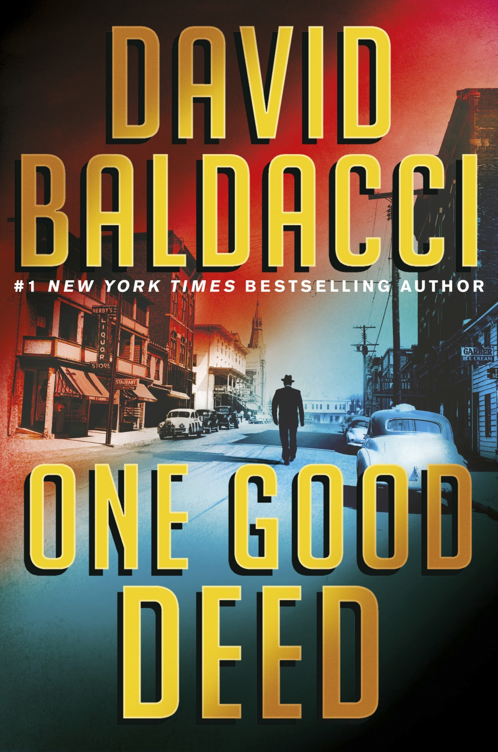 """This cover image released by Grand Central Publishing shows """"One Good Deed,"""" by David Baldacci. (Grand Central Publishing via AP)"""
