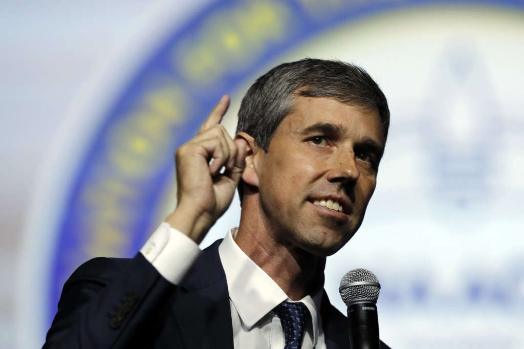 Democratic presidential candidate, former U.S. Rep. Beto O'Rourke, speaks during a candidates forum at the 110th NAACP National Convention, Wednesday,...