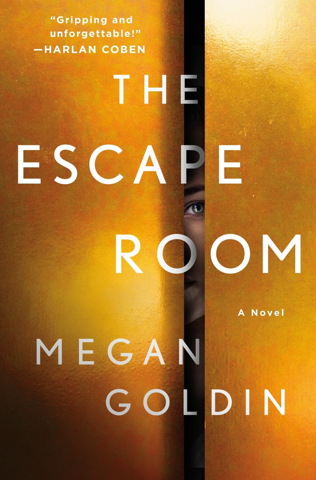 """This cover image released by St. Martin's Press shows """"The Escape Room,"""" a novel by Megan Goldin. (St. Martin's Press via AP)"""