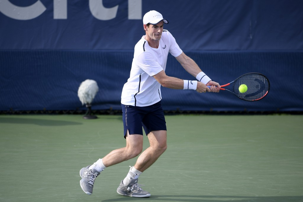 Andy Murray, brother Jamie advance in doubles at Citi Open