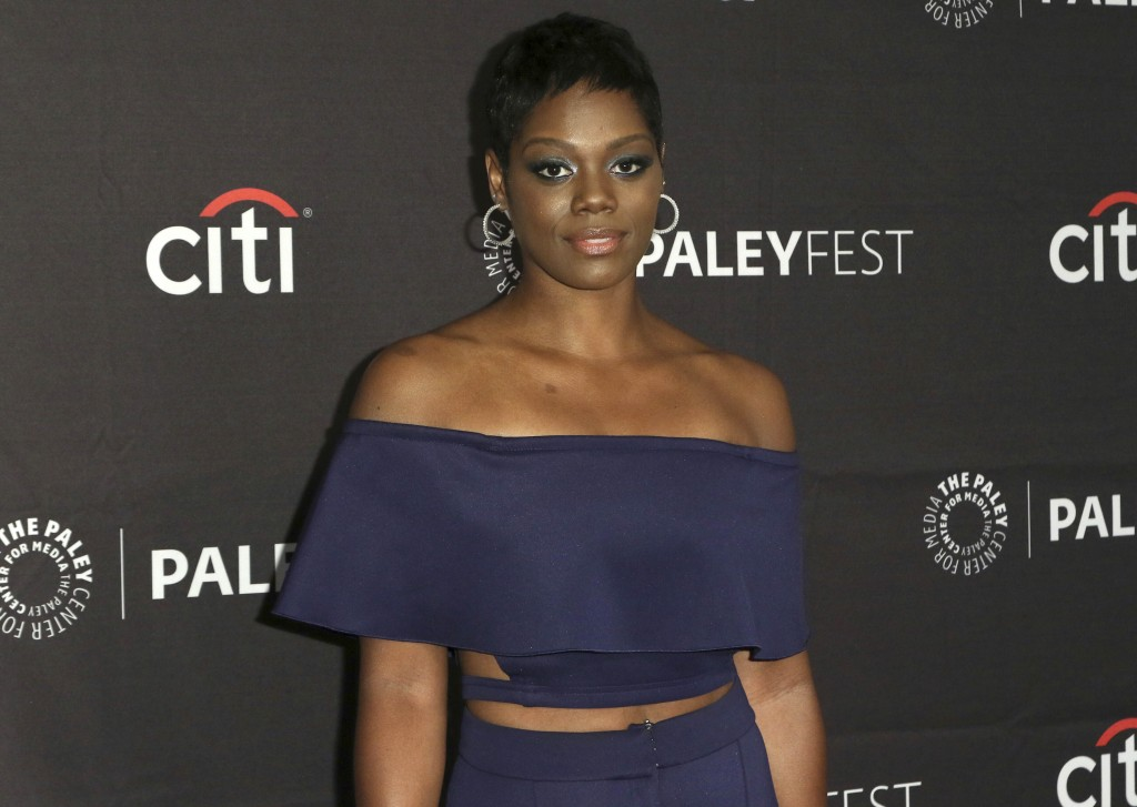 "File-This Sept. 8, 2019, file photo shows Afton Williamson attending the PaleyFest Fall TV Previews of ""The Rookie"" at The Paley Center for Media  in ..."