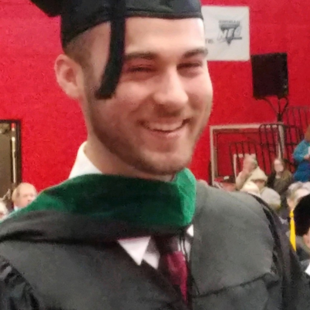This undated photo provided by the Cumer family shows Nicholas Cumer, one of the victims in a shooting at a popular nightlife area in Dayton, Ohio, Su