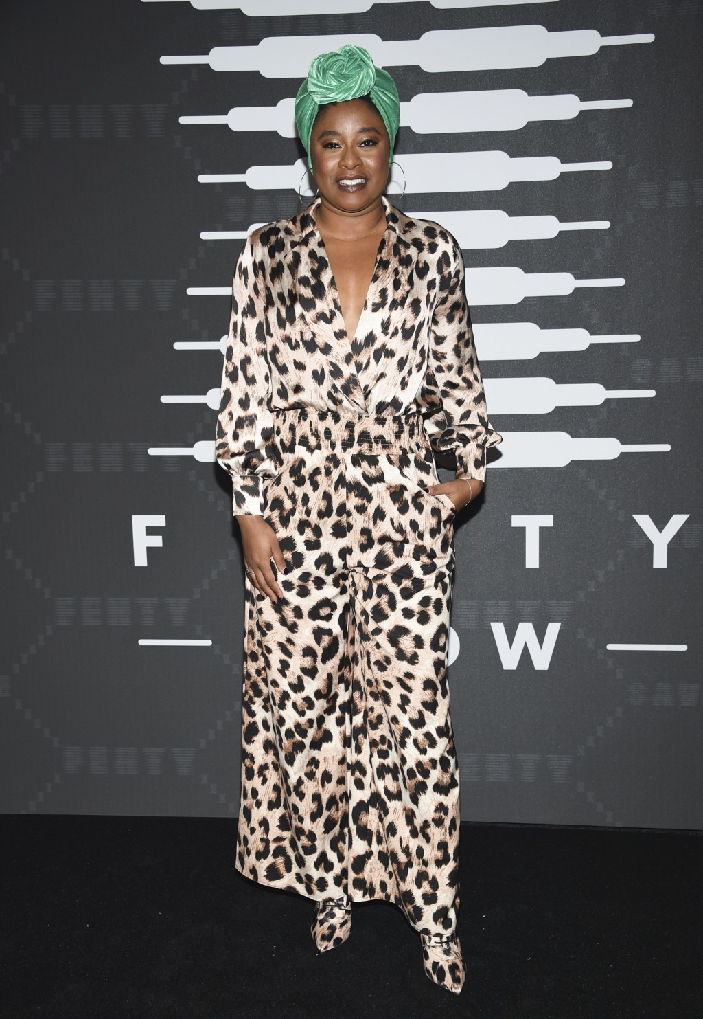 Comedian Phoebe Robinson attends the Spring/Summer 2020 Savage X Fenty show, presented by Amazon Prime, at the Barclays Center on Tuesday, Sept, 10, 2...