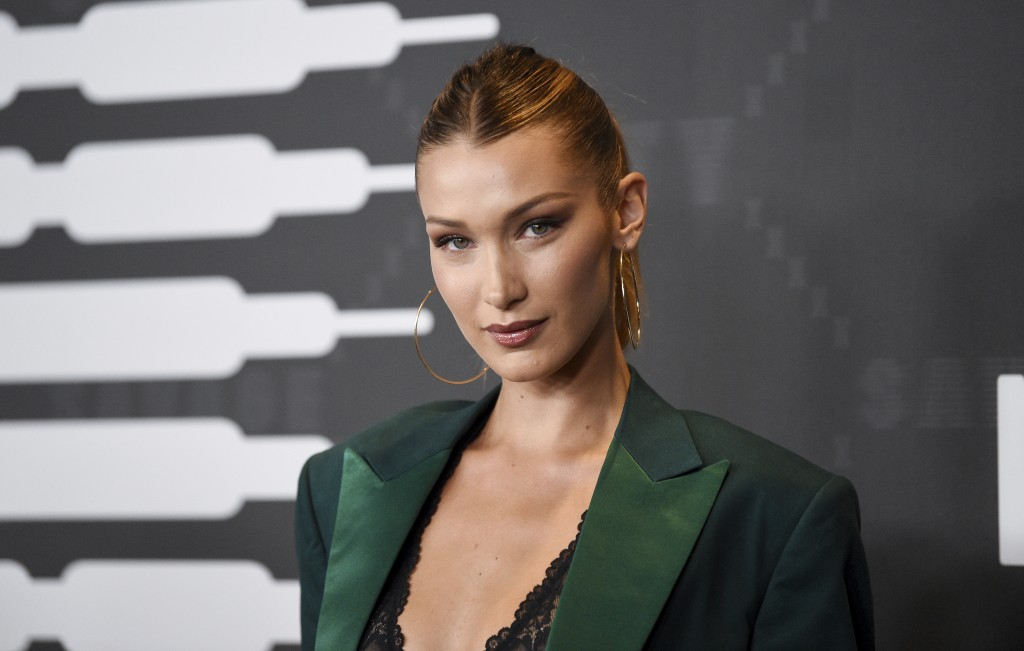 Model Bella Hadid attends the Spring/Summer 2020 Savage X Fenty show, presented by Amazon Prime, at the Barclays Center on Tuesday, Sept, 10, 2019, in...