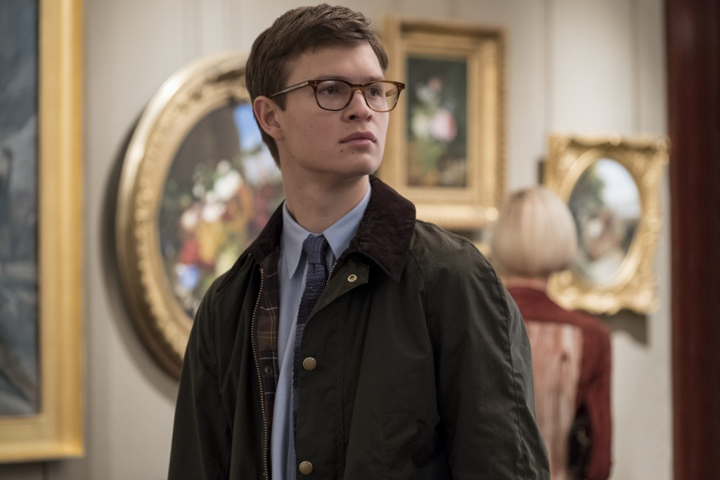 "This image released by Warner Bros. Pictures shows Ansel Elgort in a scene from ""The Goldfinch,"" in theaters on Sept. 13. (Macall Polay/Warner Bros. P"
