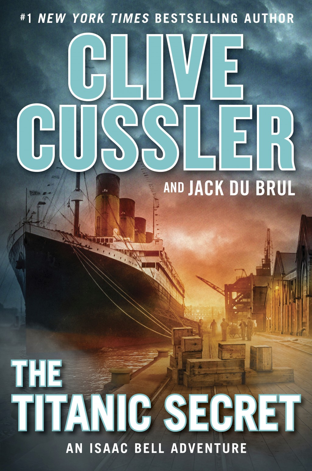 """This cover image released by G. P. Putnam's Sons shows """"The Titanic Secret,"""" by Clive Cussler and Jack Du Brul. (G. P. Putnam's Sons via AP)"""