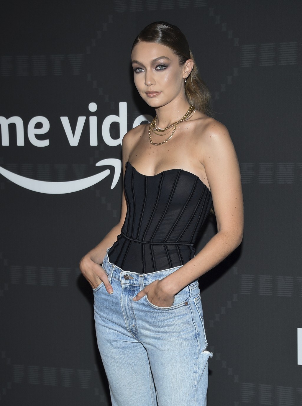 Model Gigi Hadid attends the Spring/Summer 2020 Savage X Fenty show, presented by Amazon Prime, at the Barclays Center on Tuesday, Sept, 10, 2019, in
