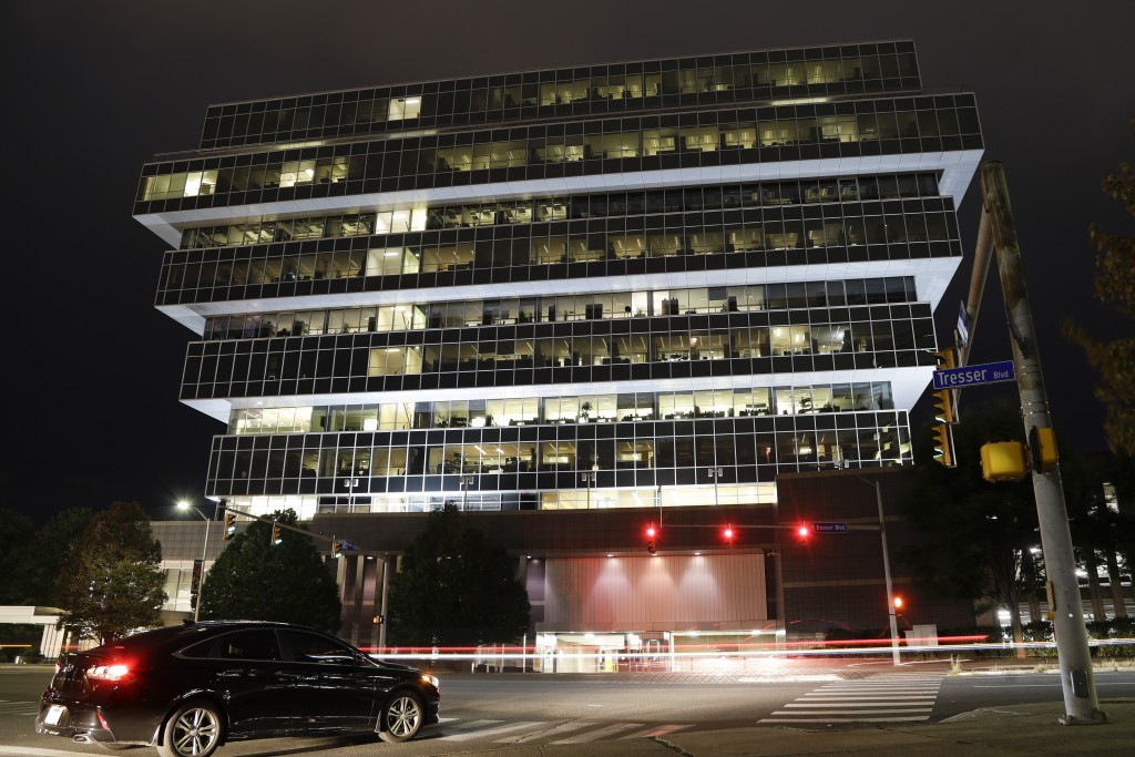 Cars pass Purdue Pharma headquarters Thursday, Sept. 12, 2019, in Stamford, Conn. For months, the judge overseeing national litigation over the opioid