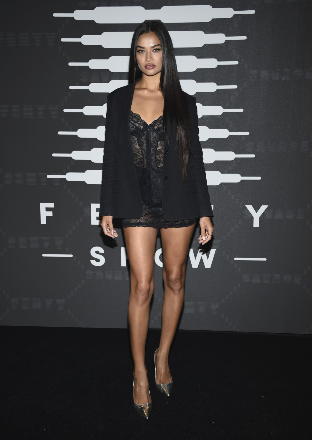 Model Shanina Shaik attends the Spring/Summer 2020 Savage X Fenty show, presented by Amazon Prime, at the Barclays Center on Tuesday, Sept, 10, 2019, ...