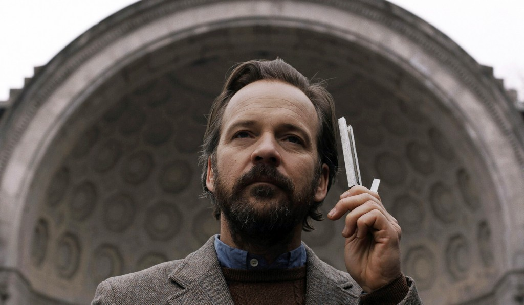 """This image released by IFC Films shows Peter Sarsgaard in a scene from """"The Sound of Silence."""" (IFC Films via AP)"""