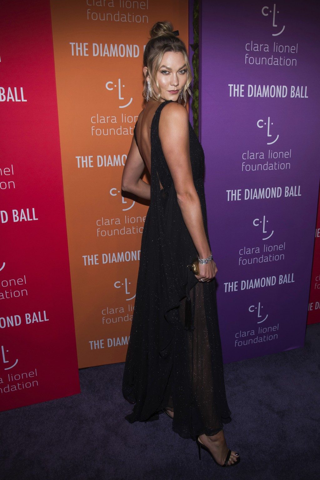 Karlie Kloss attends the 5th annual Diamond Ball benefit gala at Cipriani Wall Street on Thursday, Sept. 12, 2019, in New York. (Photo by Charles Syke...