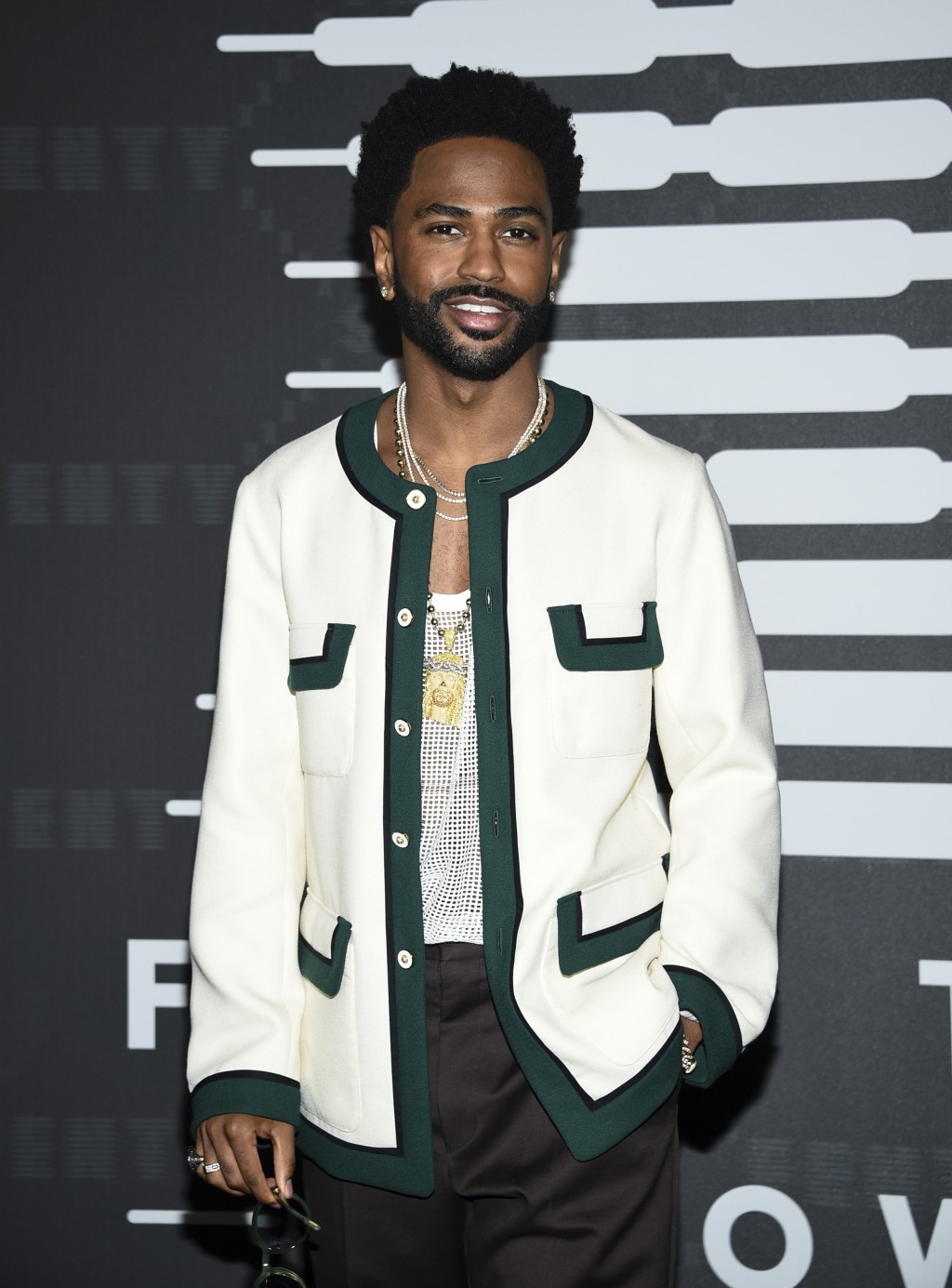 Rapper Big Sean attends the Spring/Summer 2020 Savage X Fenty show, presented by Amazon Prime, at the Barclays Center on Tuesday, Sept, 10, 2019, in N...