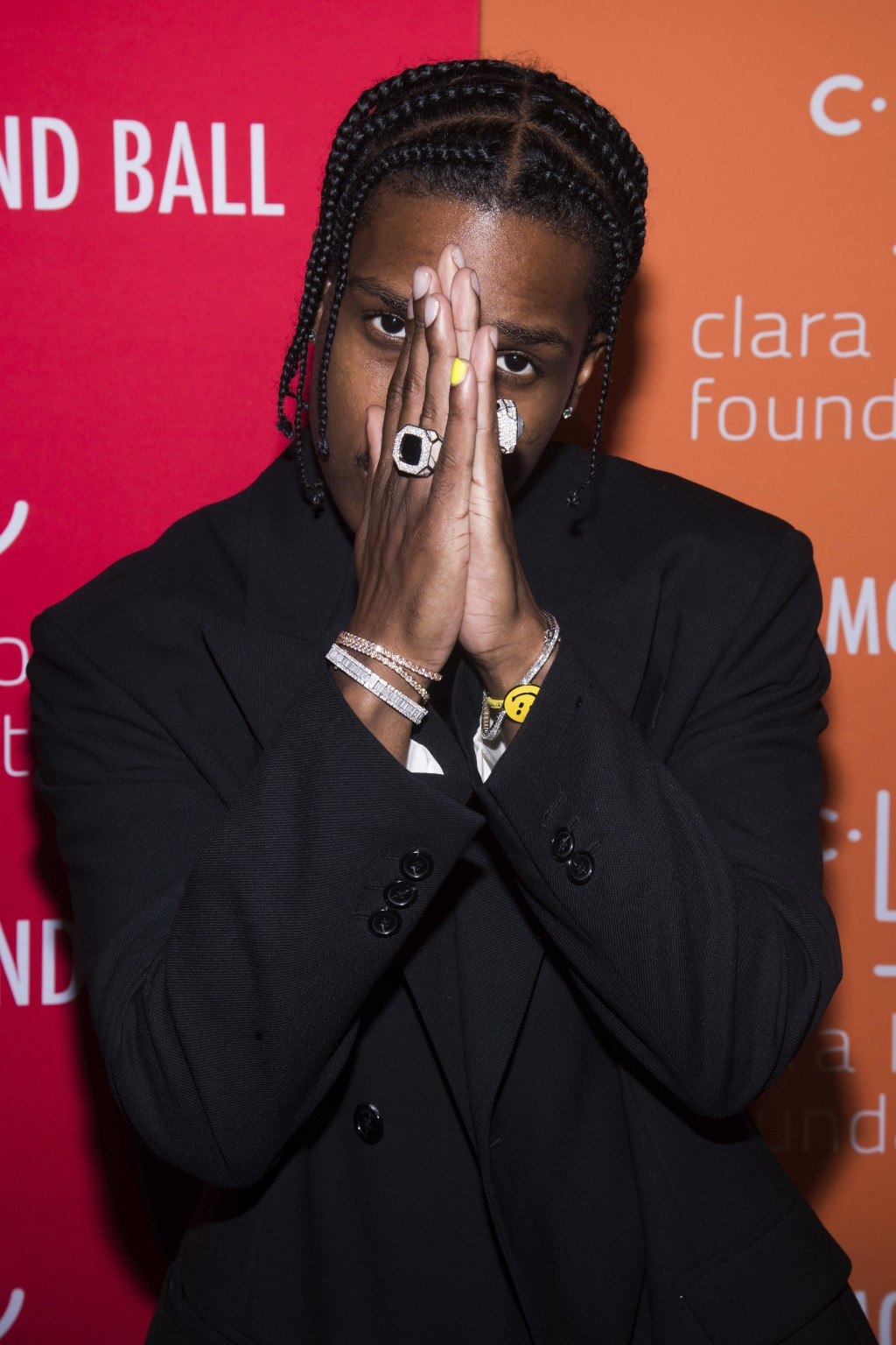 A$AP Rocky attends the 5th annual Diamond Ball benefit gala at Cipriani Wall Street on Thursday, Sept. 12, 2019, in New York. (Photo by Charles Sykes/...