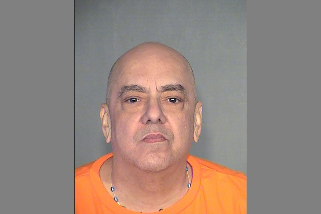 This undated mugshot released by the Arizona Department of Corrections shows Frank Roque. Roque who was convicted of first-degree murder in the Sept.