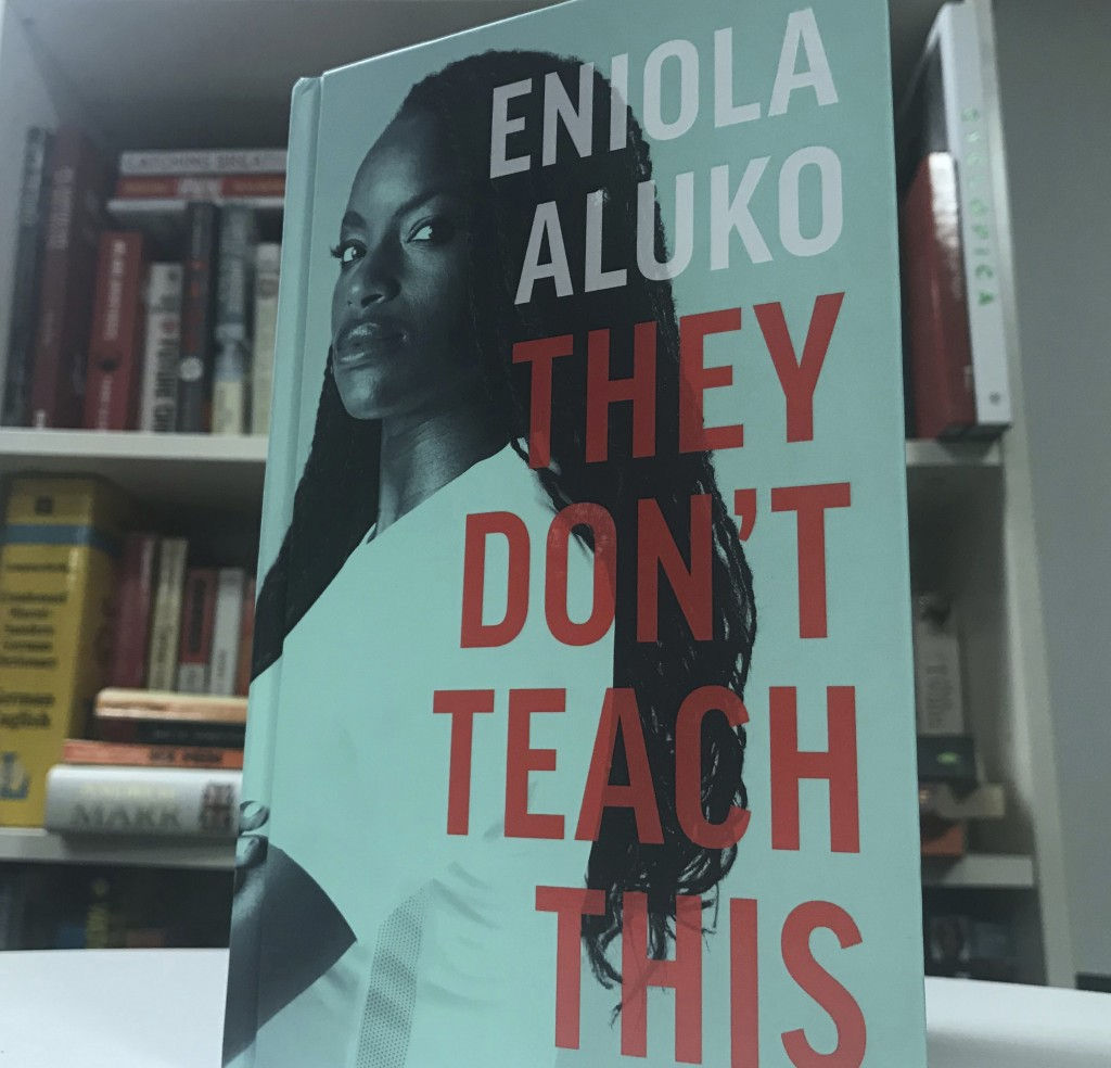 The front cover of the autobiography written by English soccer player Eniola Aluko , London, England. Friday, Sept. 13, 2019. Soccer star Eni Aluko is