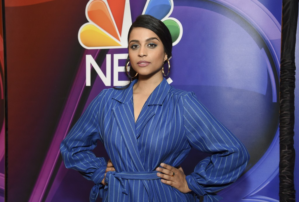 """FILE - This May 13, 2019 file photo shows Lilly Singh at the NBC 2019/20 Upfront in New York. Singh's late-night show """"A Little Late With Lilly Singh"""""""