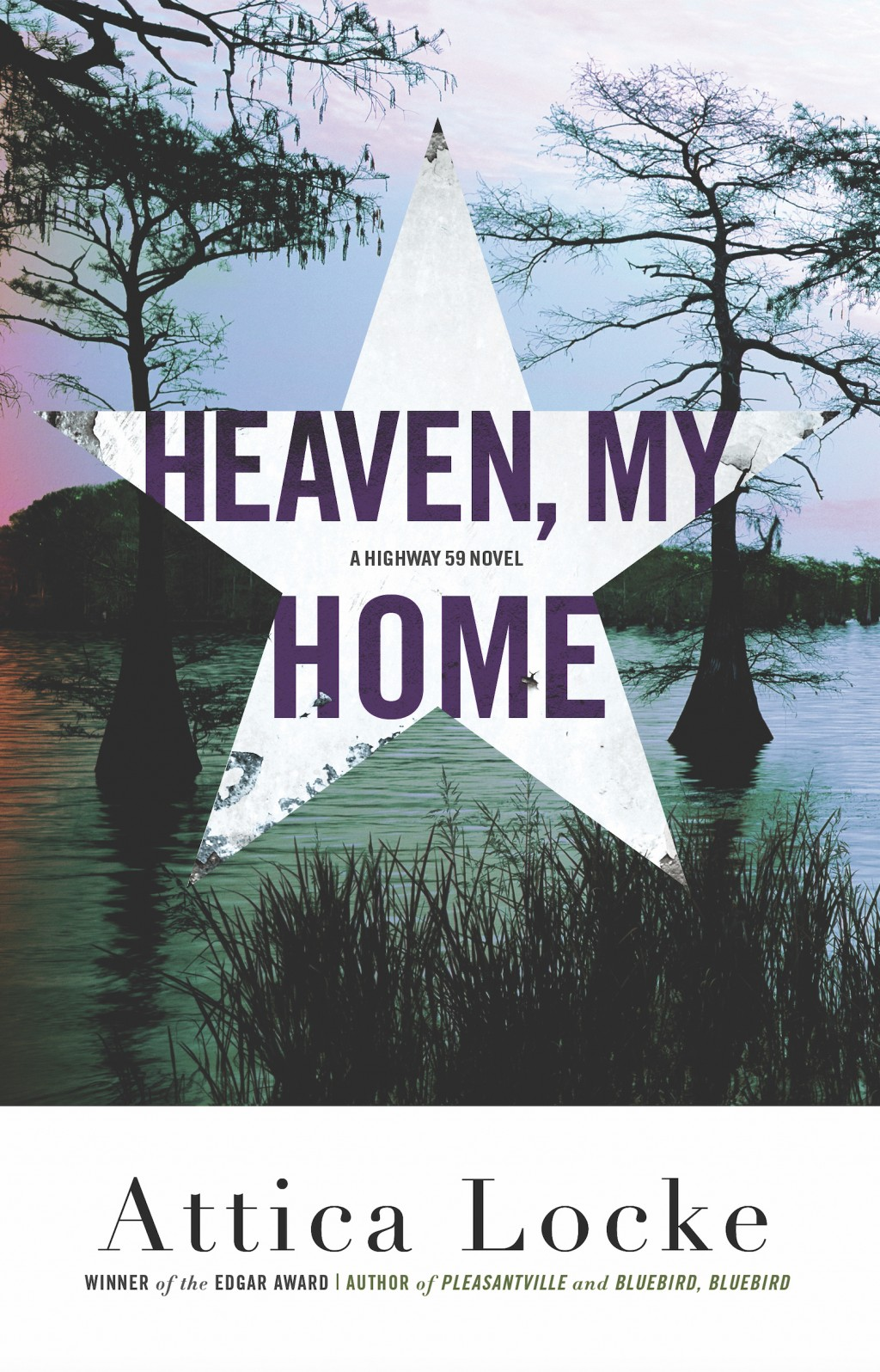"""This cover image released by Mulholland shows """"Heaven, My Home,"""" by Attica Locke. (Mulholland via AP)"""