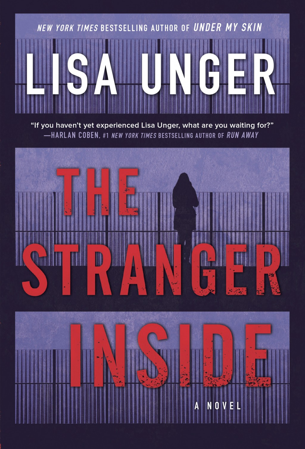 """This cover image released by Park Row shows """"The Stranger Inside,"""" a novel by Lisa Unger. (Park Row via AP)"""