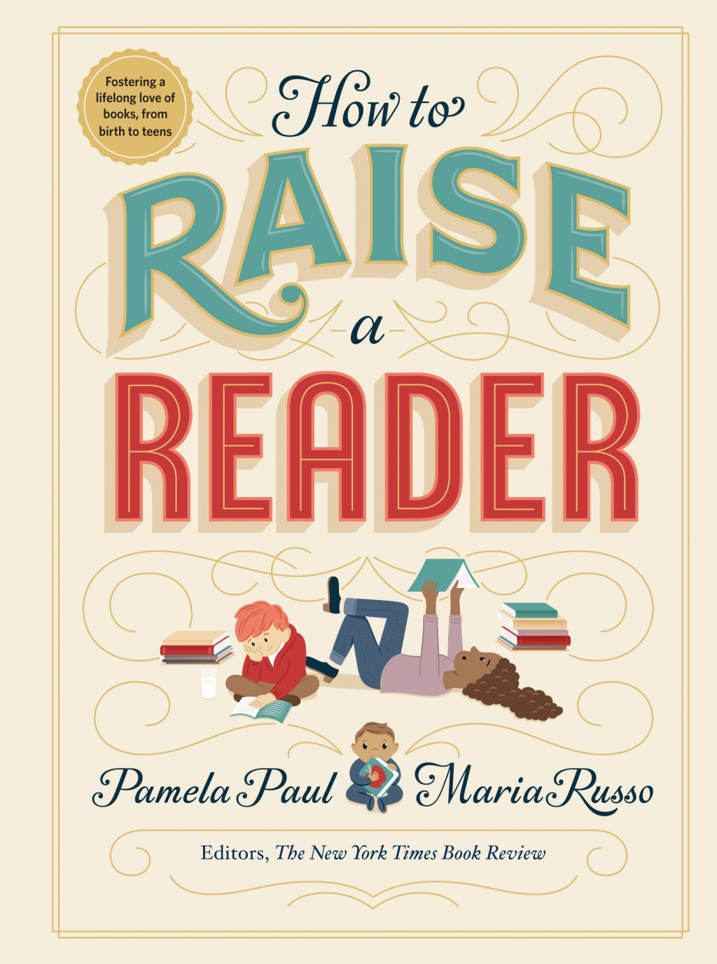 """This cover image released by Workman Publishing shows """"How to Raise a Reader,"""" by Pamela Paul and Maria Russo. (Workman via AP)"""