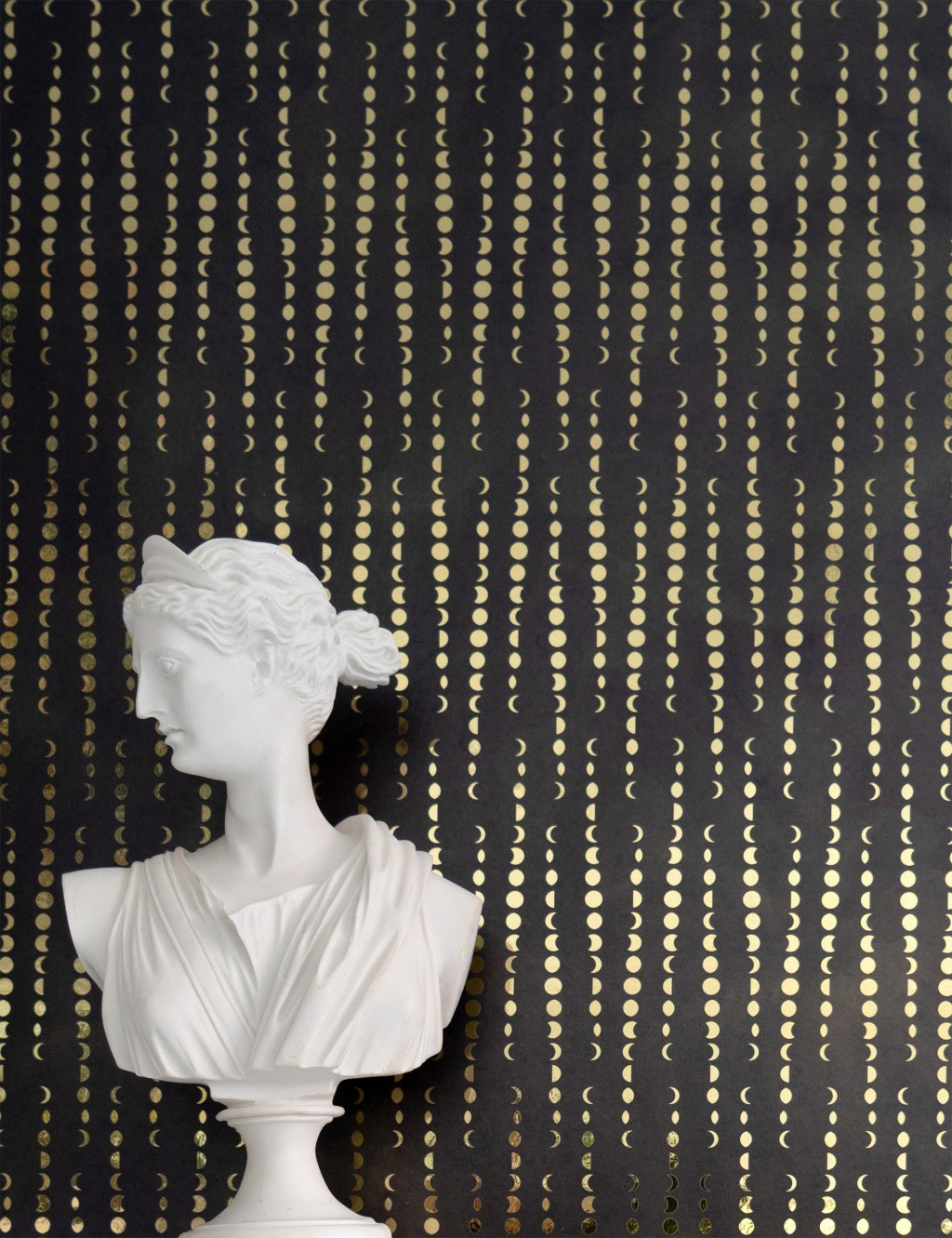 This photo provided by artist Aimee Wilder shows one of her wallpaper designs. Wilder's Eudaimonia collection was named after a Greek word meaning hap...