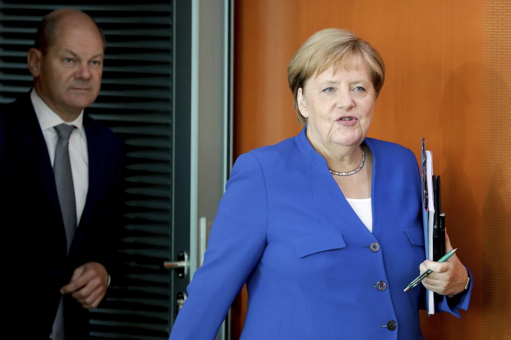 German coalition agrees climate package