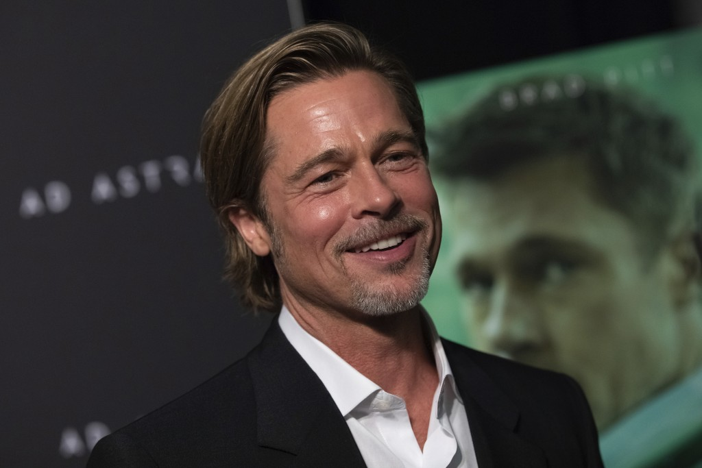 Brad Pitt asks astronaut: Who was better? Clooney or me?