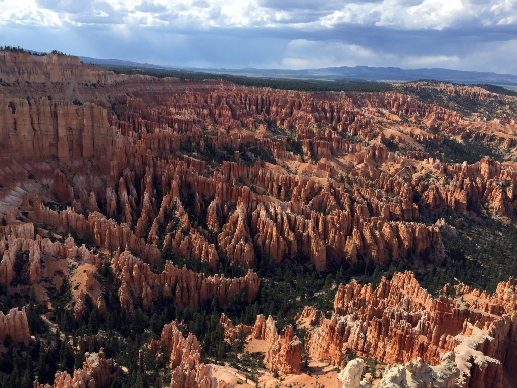 FILE - This May 25, 2017 file photo shows a view of the world-famous hoodoos, also called tent rocks, fairy chimneys and earth pyramids, at Inspiratio...