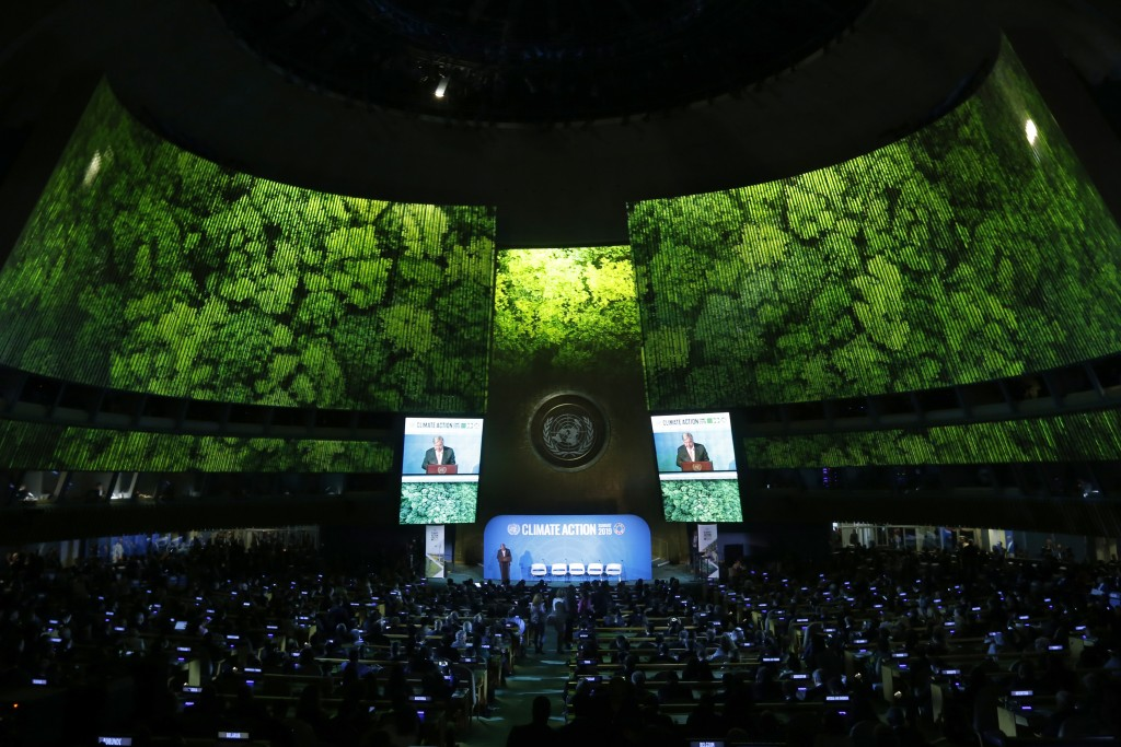 'Moment of truth' at key United Nations climate summit