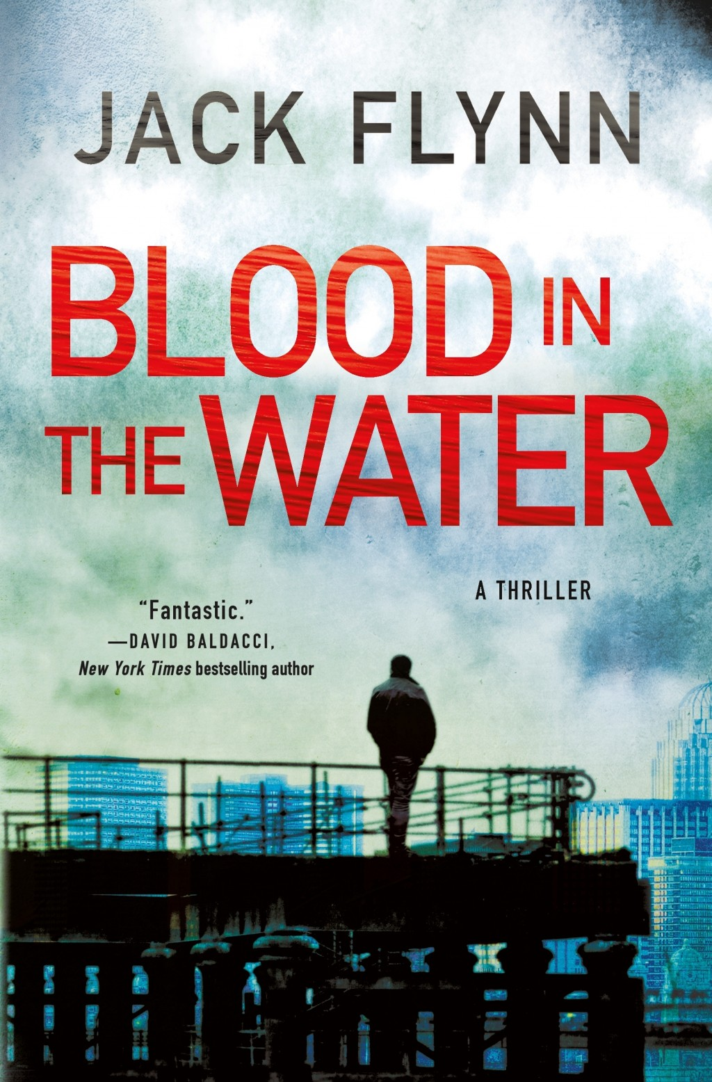 """This cover image released by Minotaur shows """"Blood in the Water"""" by Jack Flynn. (Minotaur via AP)"""