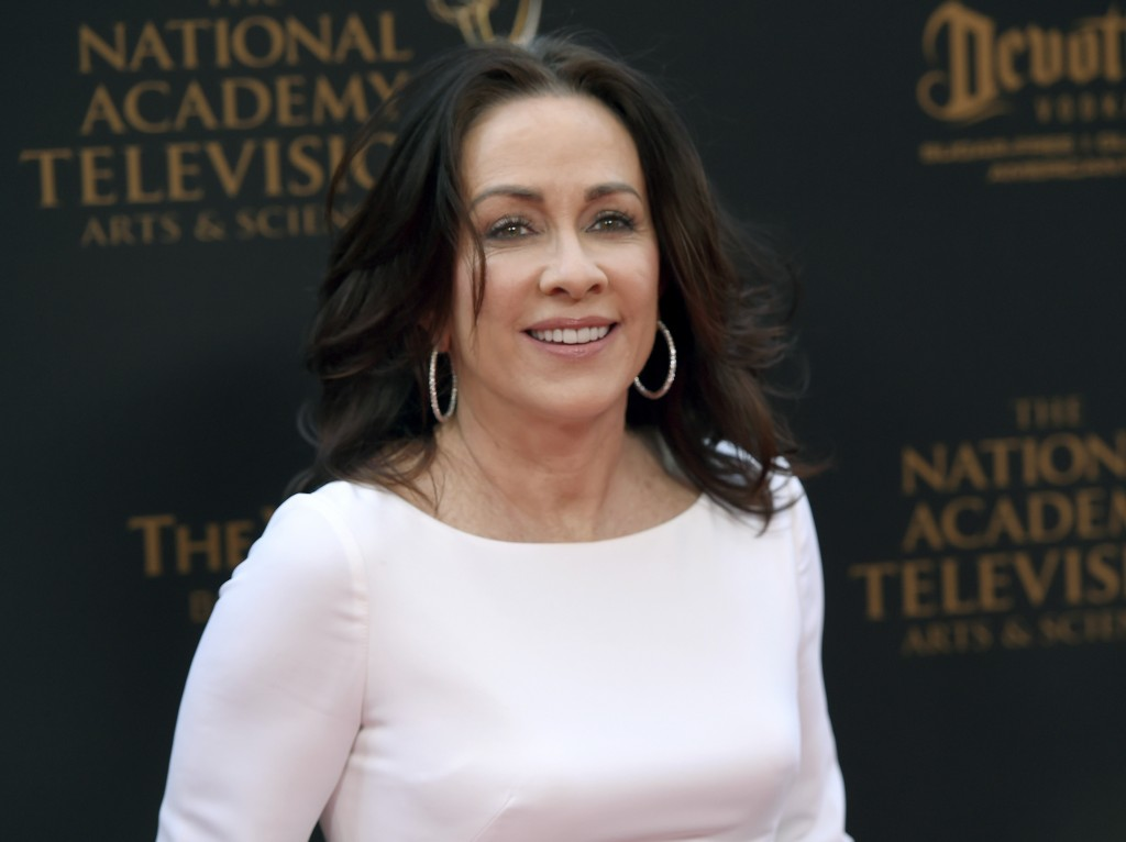 FILE - In this April 29, 2016 file photo, Patricia Heaton arrives at the Daytime Creative Arts Emmy Awards at the Westin Bonaventure Hotel in Los Ange...