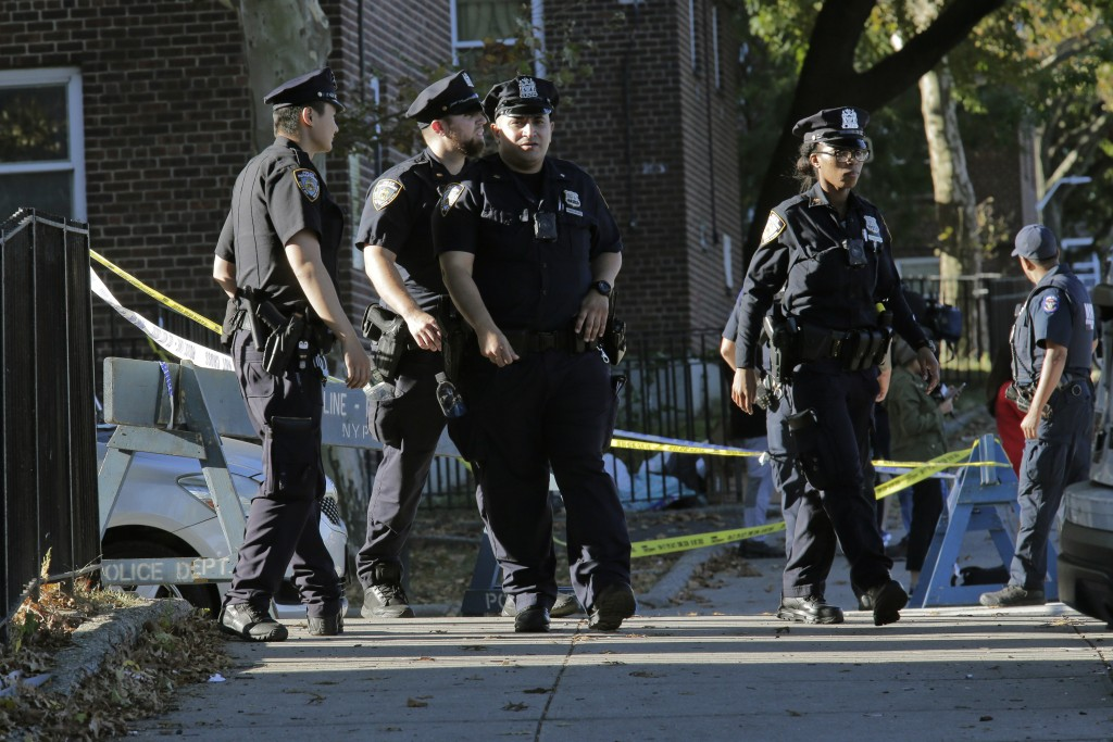 NYPD gunfire kills 1 of its own for 2nd time this year