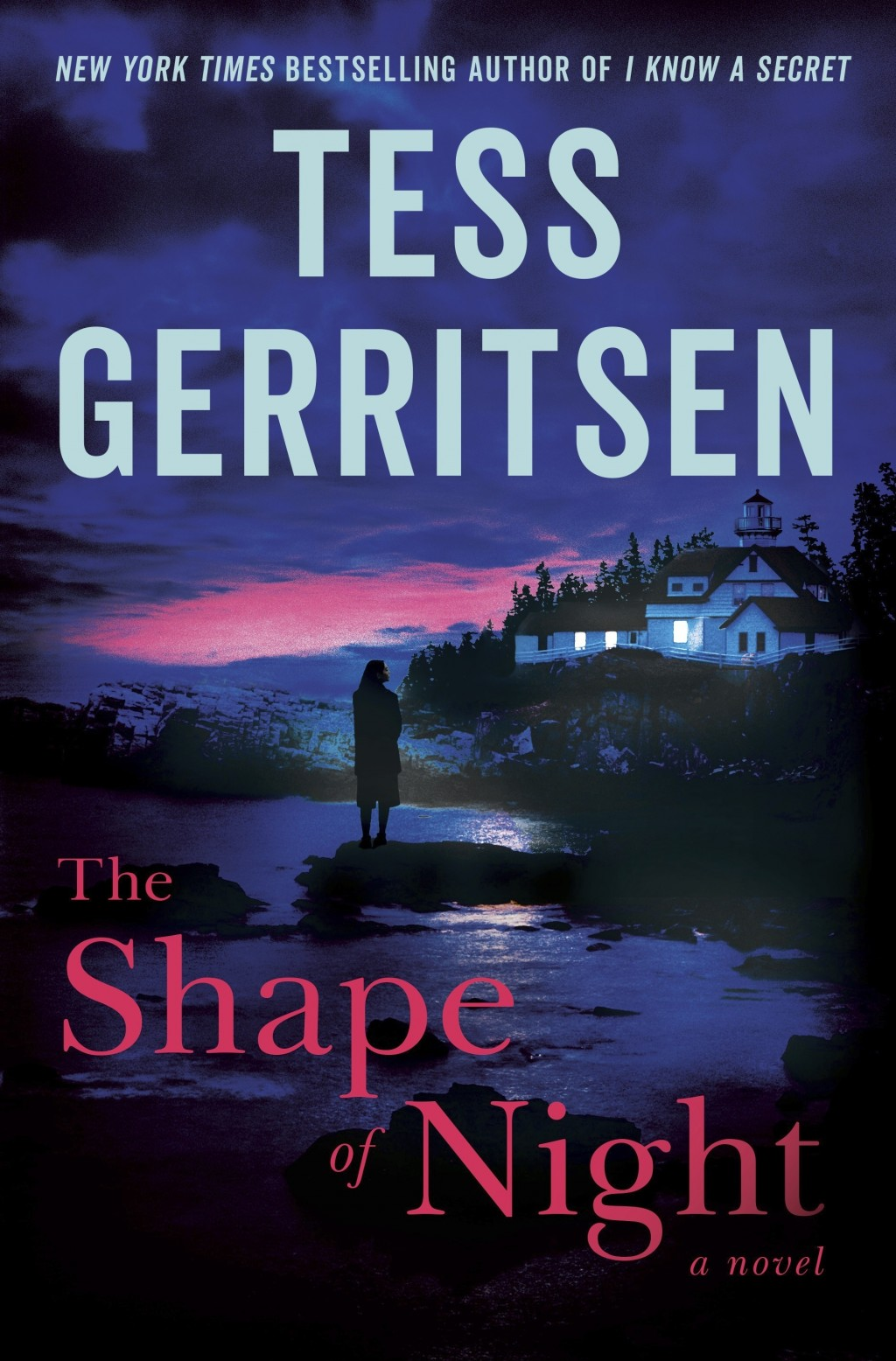 """This cover image released by Ballantine shows """"The Shape of Night,"""" a novel by Tess Gerritsen. (Ballantine via AP)"""